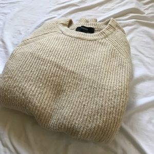 Cream sweater from Forever 21!